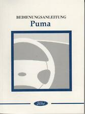 FORD   PUMA  Betriebsanleitung 2000 Bedienungsanleitung Handbuch Bordbuch   BA