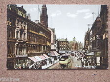 Vintage Postcard, Boar Lane Leeds, Glass/China Shops/Cafe etc