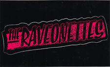 The Raveonettes Pretty In Black RARE promo stickers '05