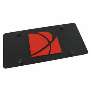 Saturn Carbon License Plate (Black)