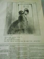 Caricature 1862 - Loge à louer Bal Il est laid mais a 50000 livres de rentes