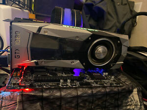 NVIDIA GeForce GTX 1080 Founders Edition 8GB GDDR5 PCI Express Graphics Card FE