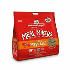 Stella & Chewy's 1 Pouch Freeze Dried Super Meal Mixers Beef 9 Ounce 2day Ship
