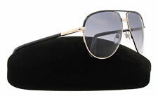 New Tom Ford Sunglasses Men Aviator TF 285 Shiny Black 01B Cole 61mm