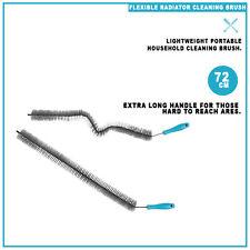 Flexible Home Radiator Cleaning Brush Dust Bristle Cleaner Wand Stick Long Brush