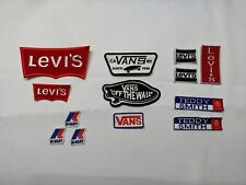 ECUSSON PATCH VANS teddy smith  LEVIS K WAY