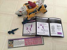 1987 G1 Transformers Headmasters Weirdwolf- reasonable condition