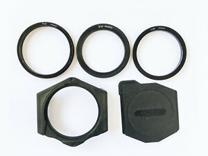 Cokin Series A Filter Holder, Cap and 3 Adapter Rings 52mm 55m 62mm