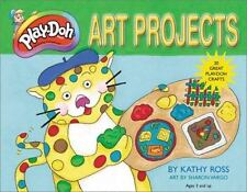 Play Doh Art Projects-ExLibrary