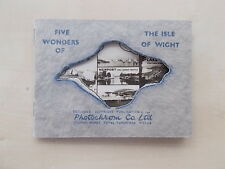 SNAP SHOT SOUVENIR ALBUM 6 REAL PHOTOGRAPH VIEWS OF THE ISLE OF WIGHT