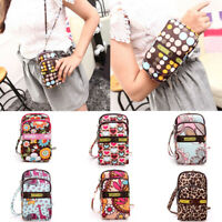 Multi-color Small Cross Body Purse for Women Girls Cute Cell Phone Shoulder Bag