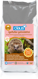 Claus Futter Igel getreidefrei Premiumfutter Fleisch Insekten Ei Mineralien