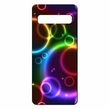 For Samsung Galaxy S10 Silicone Case Rainbow Colour Print - S7053