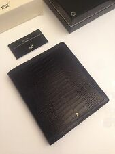 NEU MONTBLANC *Boheme* A5 Groß Leder Mappe Notizbuch Notebook NP:995€ -832