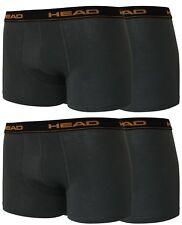 4er Pack Head Herren Boxershorts Unterwäsche L/6 dark schadow