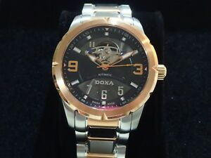 DOXA TROFEO Special Edition Wrist Watch, New In Box
