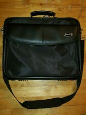 Targus 15 Inch Laptop Briefcase -- Leather/Faux Leather