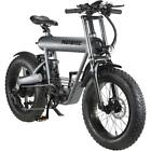 MotoTec Roadster 48v 500w Lithium Electric Fat Tire Mountain Electric Bicycle