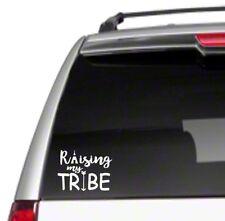 "Raising My Tribe 6"" Car Vinyl Sticker Decal arrow vintage gypsy soul heart *D43*"