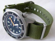 Orologio Squale Professional 500mt -cassa acciaio sabbiato Cinturino Nato oliva