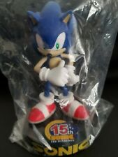 Promotional-only Sonic the Hedgehog 15th Anniversary Statue SEGA SEALED RARE