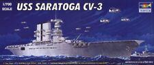 Trumpeter  1/700 USS Saratoga Cv3 Aircraft Carrier  #5738 #05738