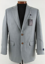 Men's RALPH LAUREN Light Blue Silk Wool Jacket Blazer 46L 46 Long NWT NEW