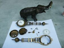 Junghams mystery clock 1 complete + parts of another
