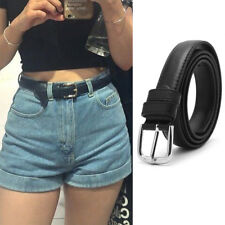Hot Sale Fashion Women Belts Leather Metal Pin Buckle Waist Belt Waistband 110cm