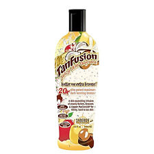SYNERGY TAN TAN FUSION BUTTER ME DARK SUNBED TANNING LOTION CREAM NON TINGLE