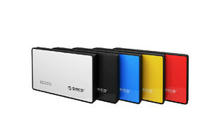 "ORICO Tool Free USB 3.0 External 2.5"" inch SATA Hard Drive HDD SSD Enclosure"