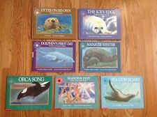 Lot 7 SMITHSONIAN OCEANIC COLLECTION Books 2 Hardcovers: OTTER Sea Lion & More