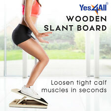 Yes4All Adjustable Wooden Slant Board 3-Level Incline Stretching Calf Ankle