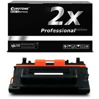 2x Pro Eurotone Cartridge Black For Canon CRG039H LBP-352 dn Ca. 25.000 Pages