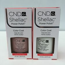 CND Shellac French Manicure KIT. SET OF Studio White and Clearly Pink 0.25 oz