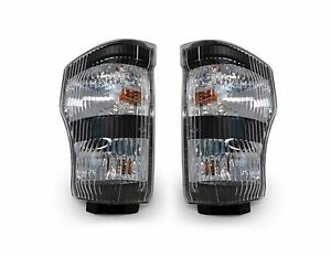 GMC W3500 W4500 W5500 2006-2007 PAIR TRUCK TURN SIGNAL LIGHTS LAMPS CORNER