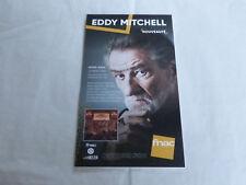 EDDY MITCHELL - LA MEME TRIBU - RENAUD!! MEGA RARE!!!PLV / DISPLAY 14 X 25 CM