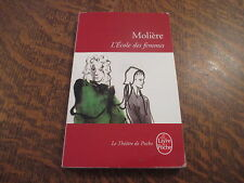 le livre de poche l'ecole des femmes - MOLIERE