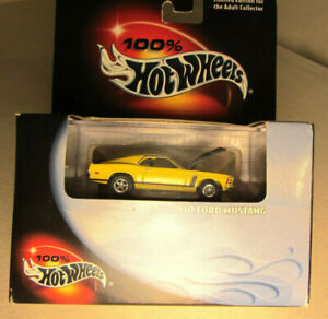 1970 Mustang Boss 302 Hot Wheels Limited Edition Factory Sealed Box VERY RARE