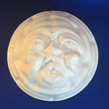 Ceramiche Bassano ABC Pottery Large Sun Face Wall Hanging 10.5in Made in Italy