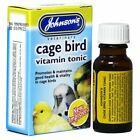 Johnsons+Vitamin+Tonic+Cage+Bird+Good+Health+Cockatiel+Canary+Budgie+Finch+15ml