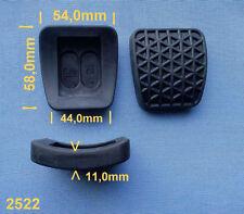 2x Pedale Bremspedalgummi  Kupplungspedalgummi Pedalgummi für Opel GM gummi 191B