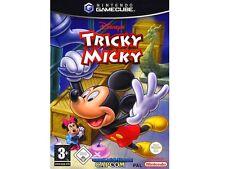 ## Tricky Micky, Disney´s (Deutsch) Nintendo GameCube / GC Spiel - TOP ##