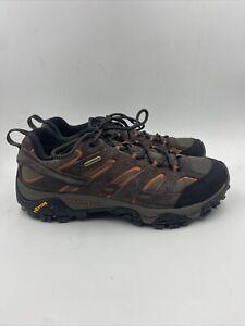 Merrell Mens Moab 2 WP Espresso Hiking Shoe Size 9.5 M , 015