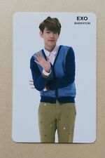 EXO K M SMTOWN COEX Artium OFFICIAL FORTUNE COOKIE PHOTOCARD - Baekhyun
