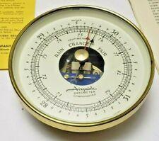 New listing Airguide Brass Marine Barometer 211