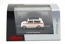 FIAT 500 GIARDINIERA BLANC 1/87  SCHUCO
