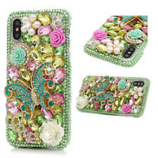 Handmade Lady's Diamond Glitter Bling 3D Hard Phone Case Cover For iPhone X 6S 7