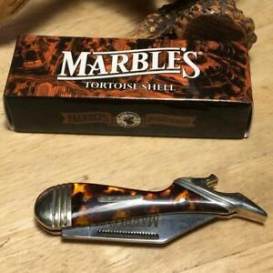 "Marble's Imitation Tortoise Lady Leg 3 1/8"" Pocket Knife MR208"