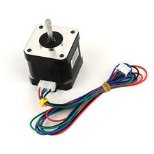 1.7A 40mm CNC 1.8Degree NEMA17 2Phase 4Lead Stepper Motor for 3D Printer